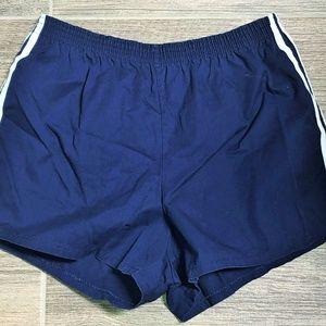 Other - Vintage 80's Men's Striped Short Running Shorts L